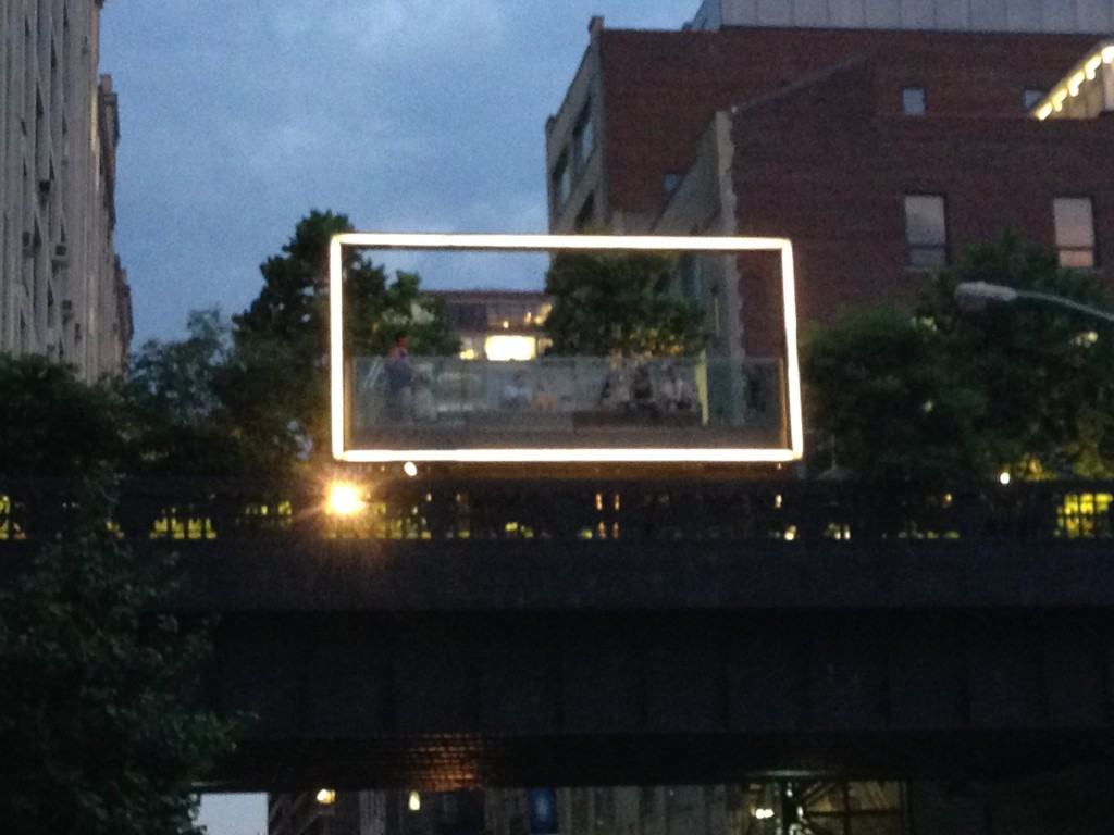 The High Line frames Chelsea.
